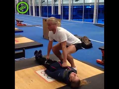 Koen Verweij lift Esmee Visser