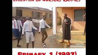 Evolution of Nursery rhymes in Nigeria (Mc Lively)