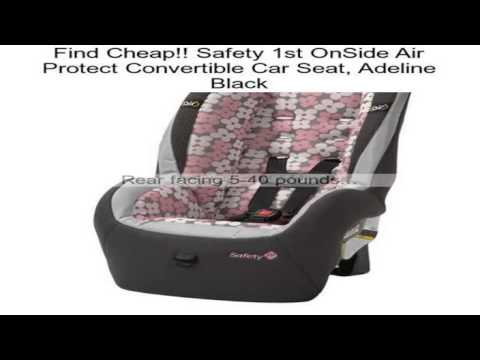 Safety 1st Onside Air Protect Convertible Car Seat Adeline Black Review
