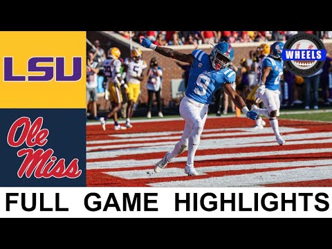 Download #12 Ole Miss vs LSU Highlights | College Football Week 8 | 2021 College Football Highlights