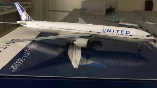 Gemini Jets United Airlines 777-300ER 1:400 Model Review