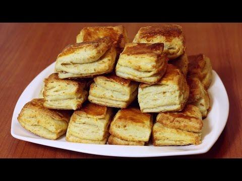 Pogačice sa čvarcima - Puff pastry with cracklings