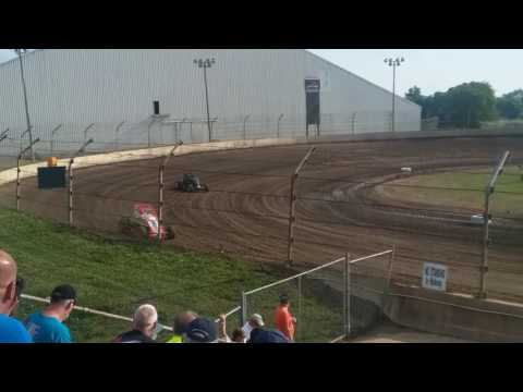 Sprint Car Hot Laps  Kokomo Speedway