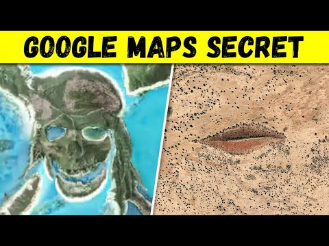 12 Mysterious Places Found on Google Maps