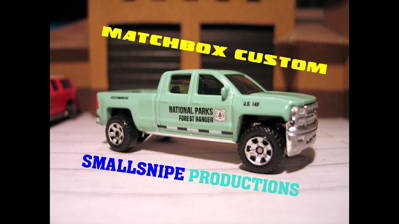 Matchbox National Parks Forest Ranger Custom Ocmfa Custom