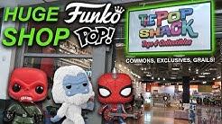 Largest Funko Pop Shop in Vegas! (The Pop Shack, Grails Exclusives)