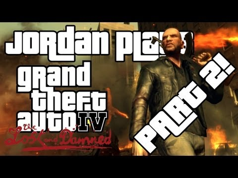 Jordan Plays: GTA IV - TLAD - Part 2!