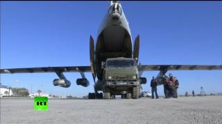 Минобороны РФ начало поставки гуманитарной помощи жителям Сирии