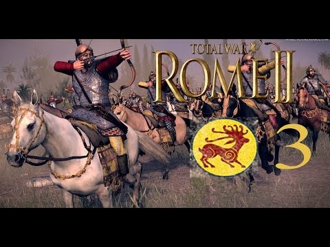 Let's Play Total War: Rome 2 Royal Scythia Campaign Part 3 - Battle with the Bastarnae |