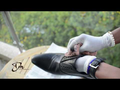 SHOE CARE; HOW TO CLEAN YOUR OXFORD SHOES