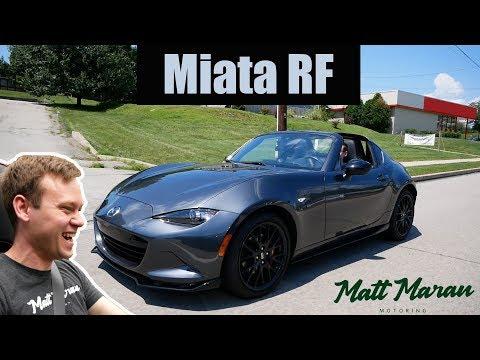 Review: 2019 Mazda MX-5 Miata RF (Manual)
