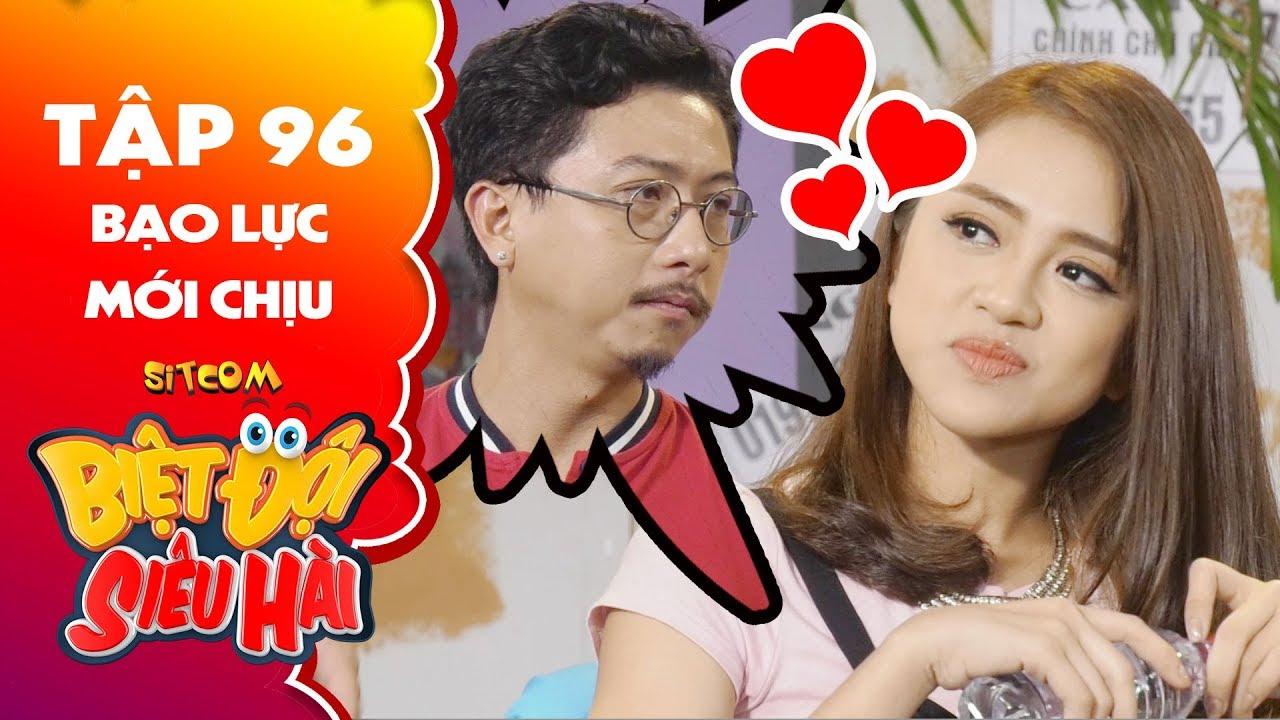 Biệt đội siêu hài   tập 96 -Tiểu phẩm: Thiên Nga yêu Hứa Minh Đạt say đắm vì menly luôn bảo vệ mình