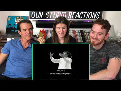 Indian National Anthem American REACTION | Indian Army | A R Rahman