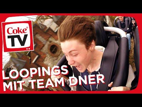 Achterbahn fahren mit Dner im Heide Park Resort | #CokeTVMoment
