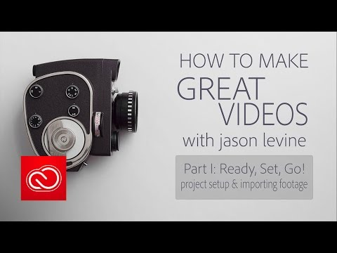 How to Make Great Videos Part 1 | Project Setup & Importing Footage