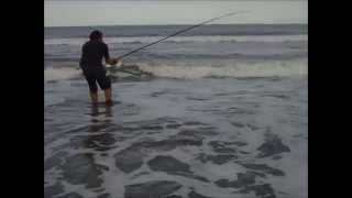 pasion por la pesca en balneario marisol con amigos