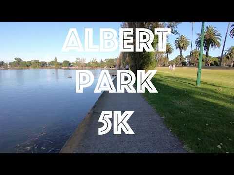 Albert Lake 5k Summertime in Melbourne Australia