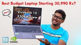 Best Budget Laptop Starting 30,990 Rs!? Asus Vivobook X509 Review