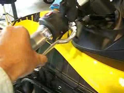 Can-Am Spyder Hand Brake