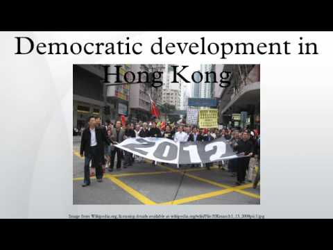 Democratic development in Hong Kong