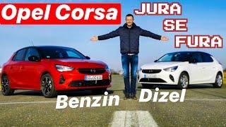 Nova Opel Corsa! Dizel i benzin! Jura se fura!
