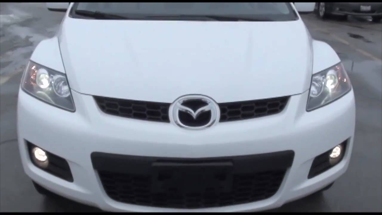 2008 mazda cx-7 grand touring pearl white - excellence cars direct