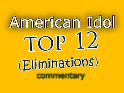 American Idol Top 12 Results Show (commentary)