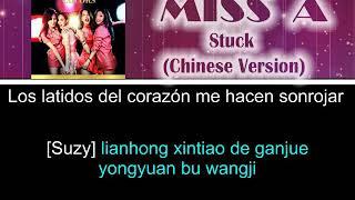 Miss A - Stuck (Chinese Version) [Letra Sub español + Rom] […