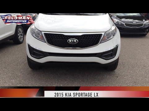 Kia Sportage LX Features