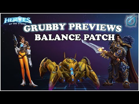 Grubby | Heroes of the Storm - Patch Notes Preview - March - 2018 - Fenix Patch!