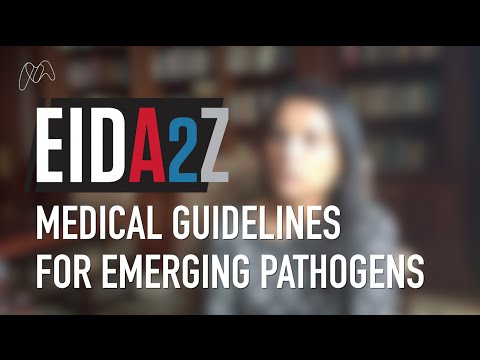 Medical Guidelines for Emerging Pathogens – Dr Nahid Bhadelia