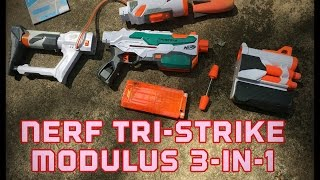 Honest Review: Nerf Modulus Tri-Strike