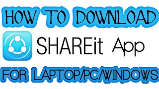 Gambar cover How To Download SHAREit App For Laptop