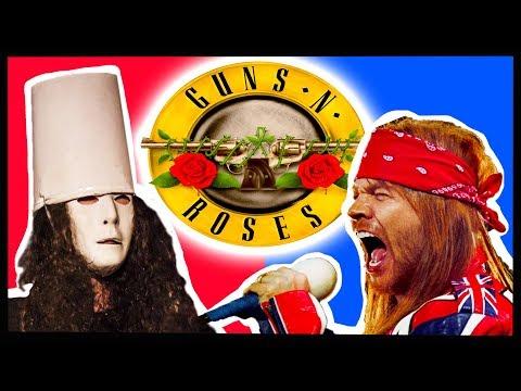 The History of Buckethead & Axl Rose