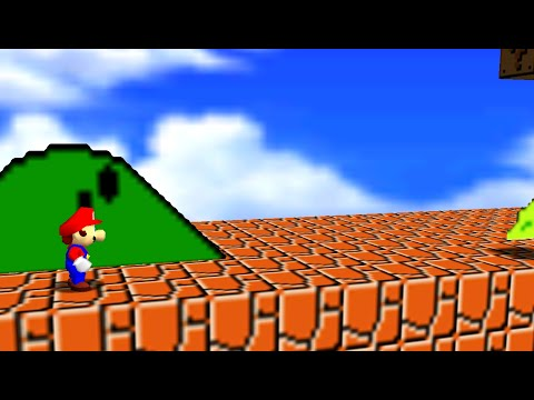SMB 1-1 accurate recreation in SM64