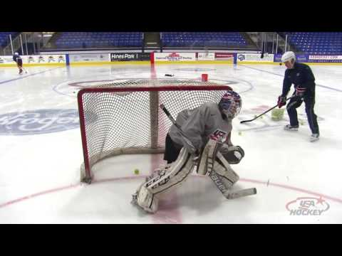 Goaltender Drill of the Month: Tennis Ball Reaction Drill
