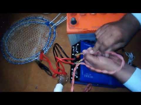 Electric Fishing Inverter 4000w Kaise Kaam Karta Hy Aur Is Se Kaise Machhli Ka Shikaar Karte Hain.