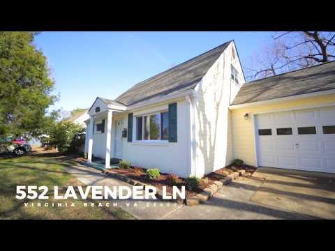 HD Tour: 552 Lavender Ln •Virginia Beach, VA 23462