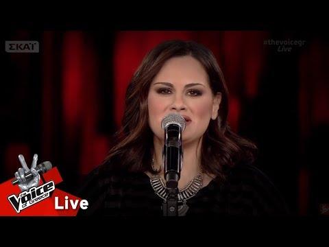 Τζωρτζίνα Αλεξάκη - Όσο βαρούν τα σίδερα   1o Live   The Voice of Greece