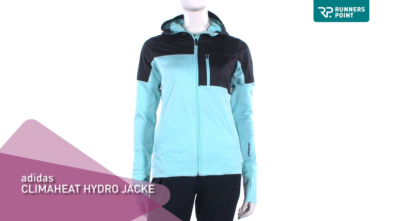 adidas climaheat hydro jacket damen youtube. Black Bedroom Furniture Sets. Home Design Ideas