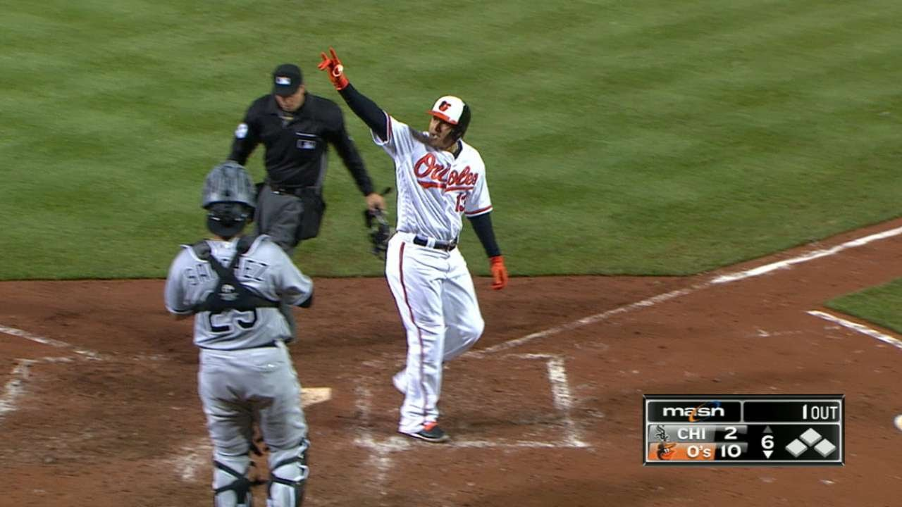 Manny Machado's walk-off grand slam highlights night full of homers