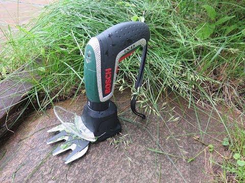 BOSCH DIY: NEW! IXO GARDEN - насадка-ножницы для стрижки травы