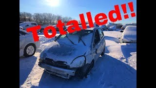THE YODA IS DONE! I Wrecked my Toyota and here is how it happened!!