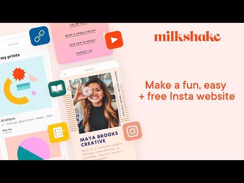 Milkshake App | Free Android Website Builder On Google Play!