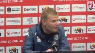 AUFC Press Conference | NYE vs Wellington Phoenix