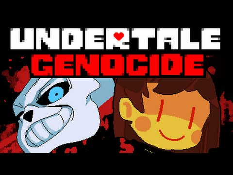 Undertale Full Genocide Run - No Commentary