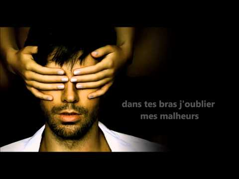 Let me be your lover  french version  lyric video   Enrique Iglesias ft Anthony Touma