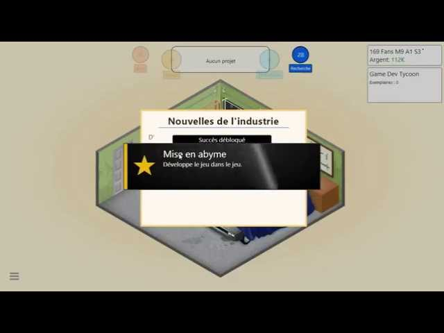 Sans Commentaire: Game Dev Tycoon Partie 1