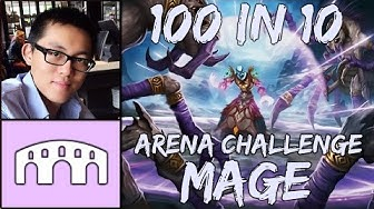 [Hearthstone] 100 in 10 Arena Challenge Run 3 Mage Part #1: Greed Deed