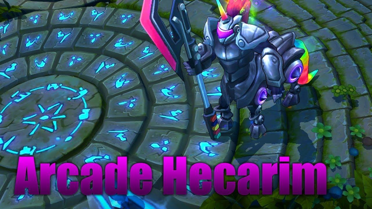 Arcade Hecarim Skin - League of Legends [FULL HD] - YouTube